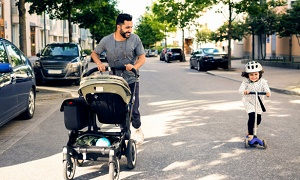 best stroller for irish twins